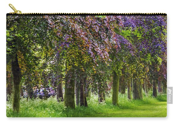 Monet's Trees Carry-all Pouch