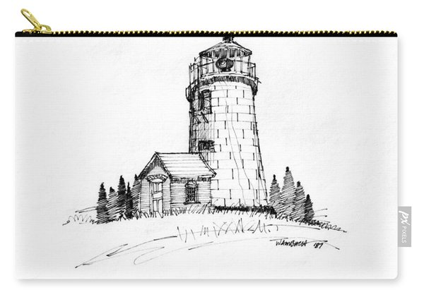 Monhegan Lighthouse 1987 Carry-all Pouch