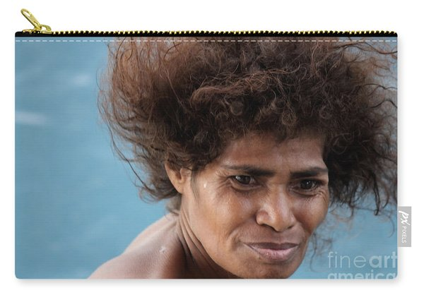 Monica From Papua New Guinea Carry-all Pouch