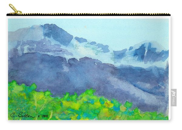 Montana Mountain Mist Carry-all Pouch
