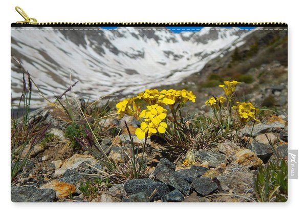 Blue Lakes Colorado Wildflowers Carry-all Pouch