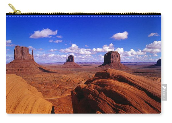 Monument Valley, Arizona, Usa Carry-all Pouch