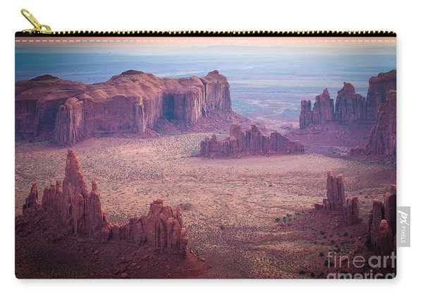 Monument Valley From Hunts Mesa Carry-all Pouch