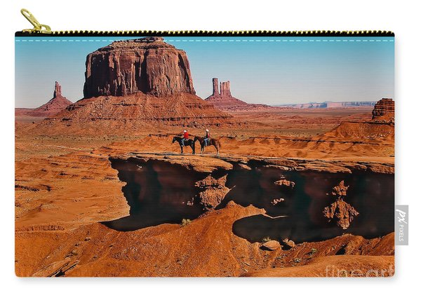 Monumental Valley View Carry-all Pouch
