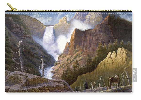 Moody Falls  Carry-all Pouch