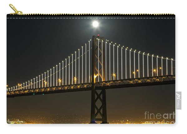 Moon Atop The Bridge Carry-all Pouch