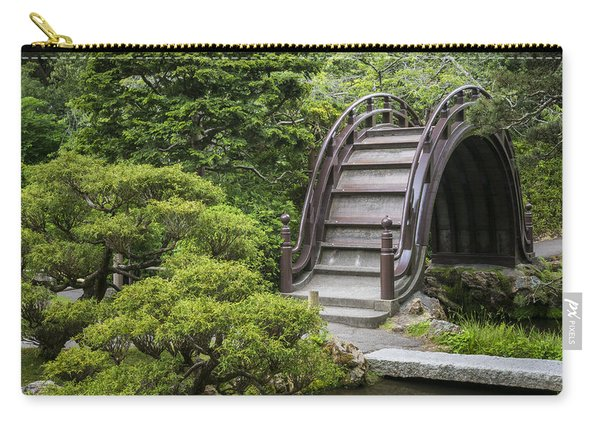 Moon Bridge - Japanese Tea Garden Carry-all Pouch