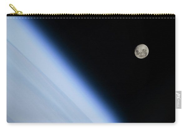 Moon Over Earth Carry-all Pouch