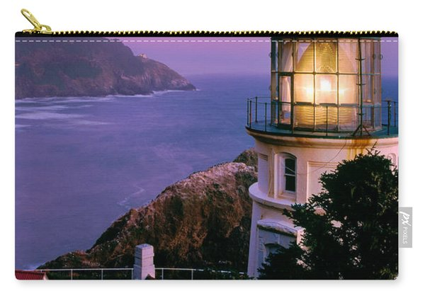Moon Over Heceta Head Carry-all Pouch