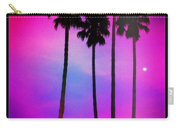 Moon Palms Carry-all Pouch