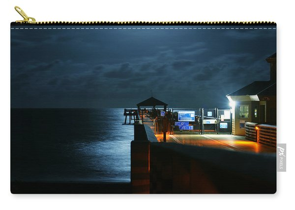 Moonlit Pier Carry-all Pouch