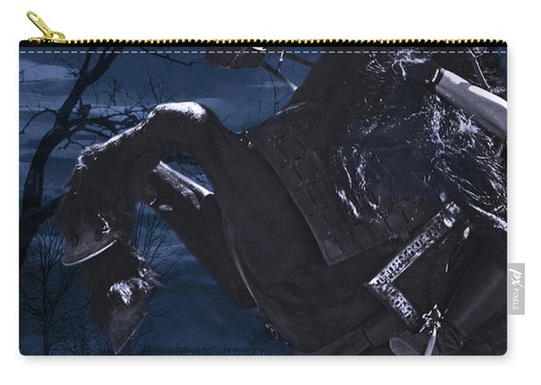 Moonlit Warrior Carry-all Pouch