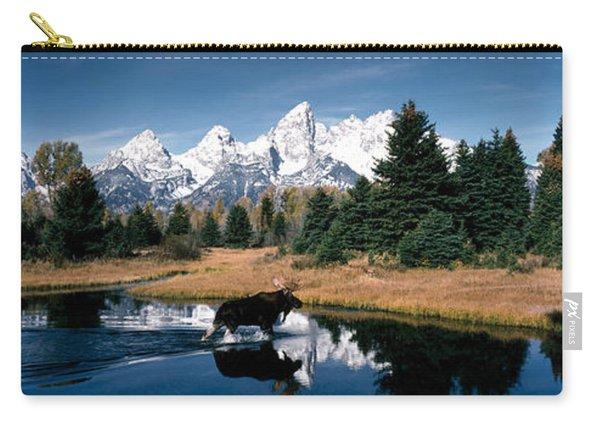 Moose & Beaver Pond Grand Teton Carry-all Pouch