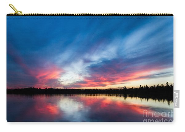 Moose Lake Sunset Carry-all Pouch