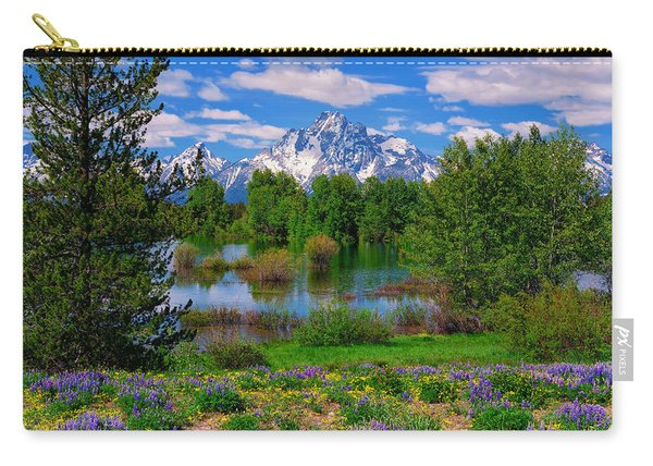 Moran From Pilgrim Creek Carry-all Pouch