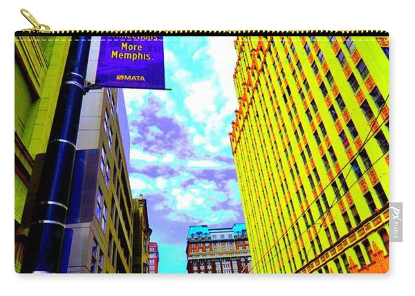 More Memphis On Monroe Carry-all Pouch