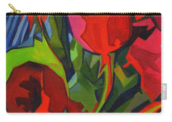 More Red Tulips  Carry-all Pouch