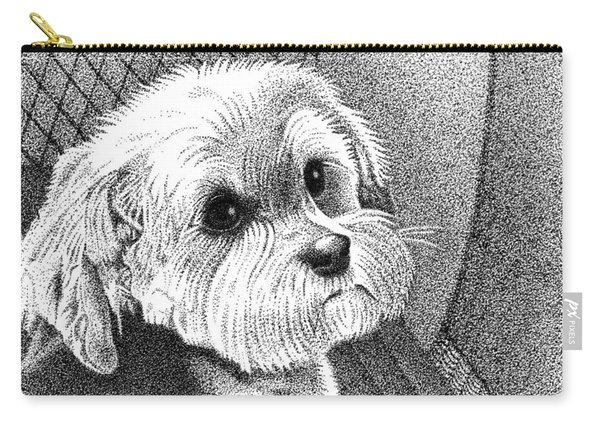 Morkie Carry-all Pouch