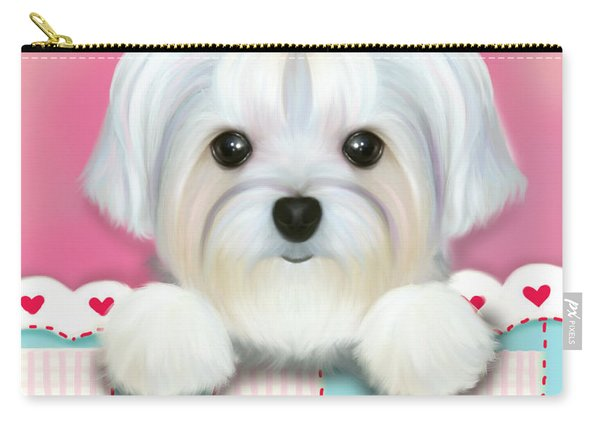 Morkie Shelly Carry-all Pouch