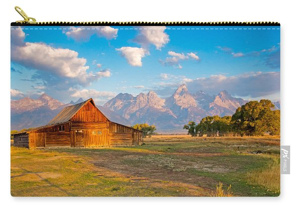 Mormon Row And The Grand Teton Carry-all Pouch
