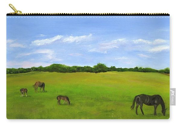 Morning At Windy Willows Carry-all Pouch