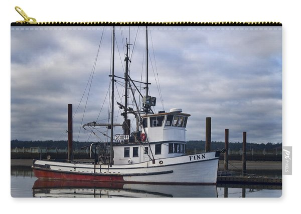 Morning Calm Newport Oregon Square Version Carry-all Pouch