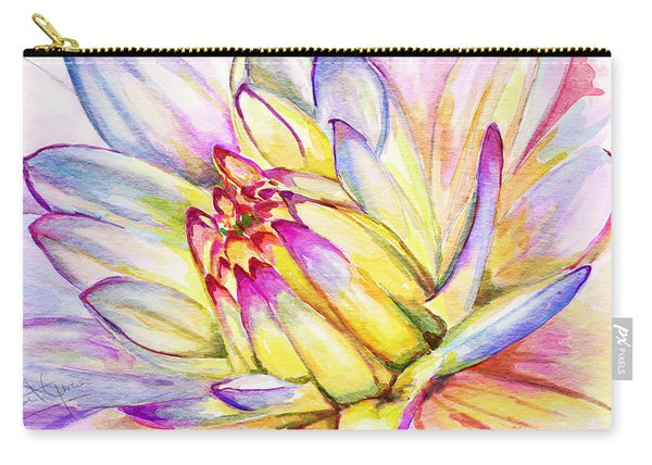 Morning Flower Carry-all Pouch