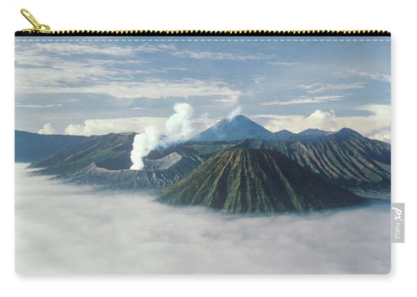 Morning Light Shines On The Volcanic Carry-all Pouch