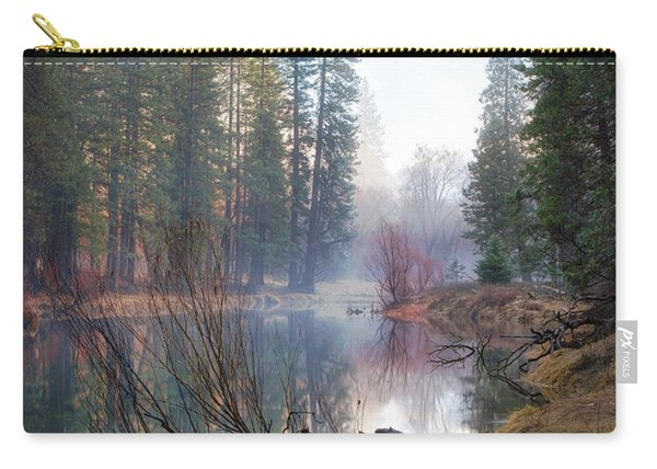 Morning On The Merced Carry-all Pouch