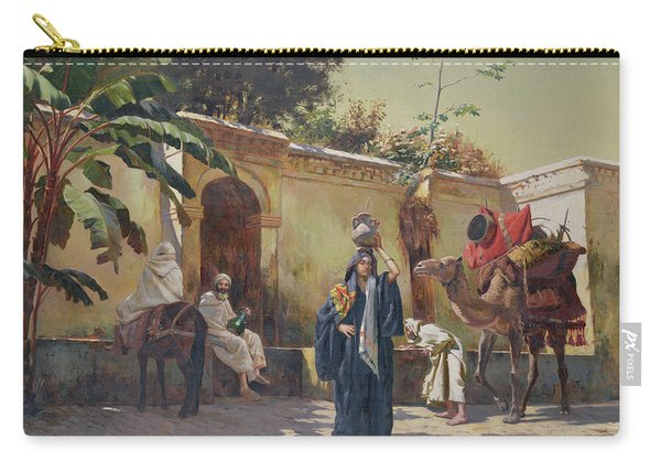 Moroccan Scene Carry-all Pouch