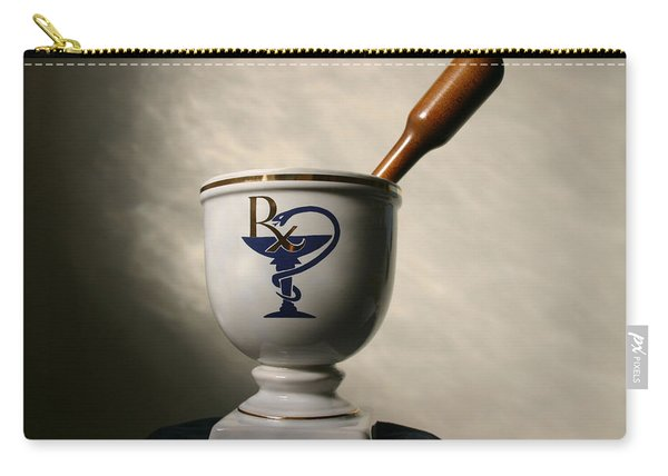 Mortar And Pestle Two Carry-all Pouch