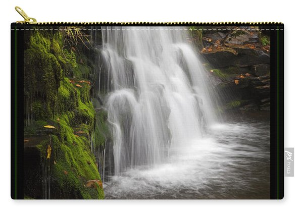 Mossy Wilderness Waterfall Cascade Carry-all Pouch