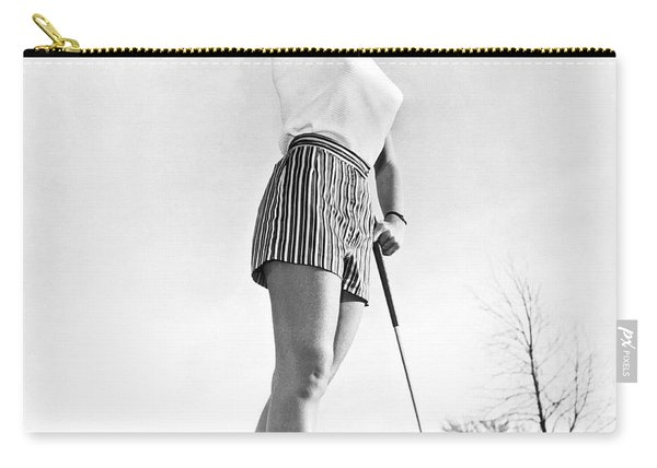 Most Beautiful Golfer Of 1957 Carry-all Pouch