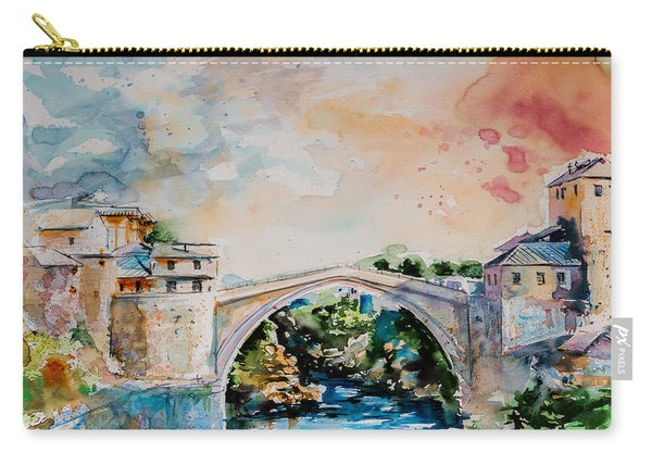 Mostar Bridge Carry-all Pouch