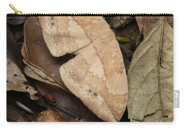 Moth Camouflaged Against Leaf Litter Carry-all Pouch