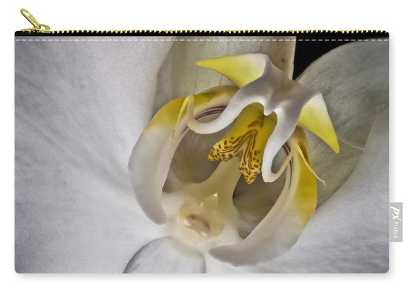 Moth Orchid Inverted Carry-all Pouch