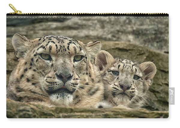 Mother And Cub Carry-all Pouch