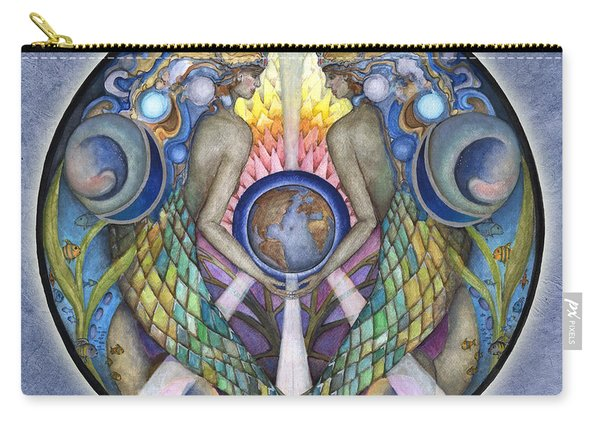 Mother Ocean Mandala Carry-all Pouch