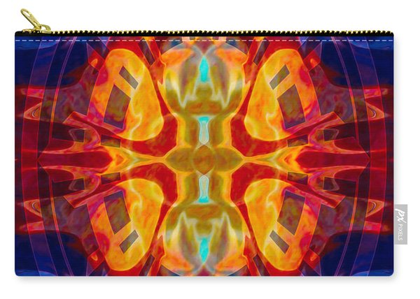 Mother Of Eternity Abstract Living Artwork Carry-all Pouch