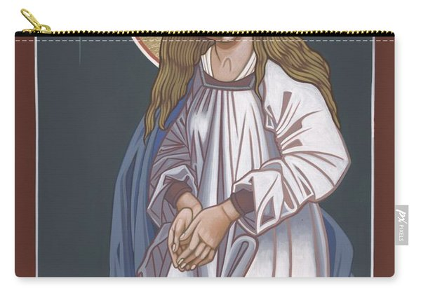 Mother Of God Waiting In Adoration 248 Carry-all Pouch