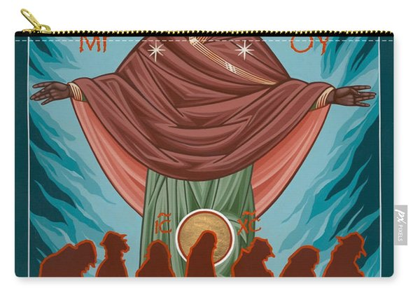 Mother Of Sacred Activism With Eichenberg's Christ Of The Breadline Carry-all Pouch
