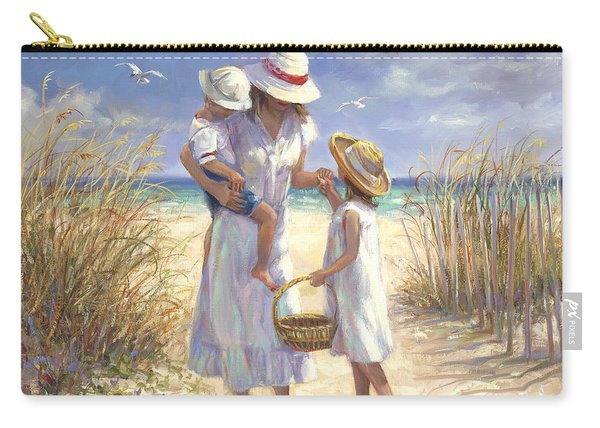 Mothers Day Beach Carry-all Pouch
