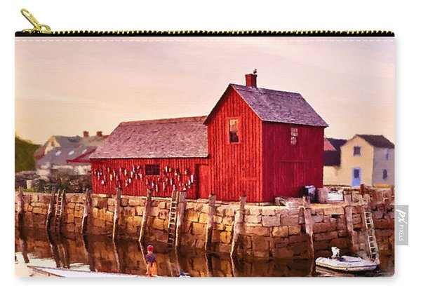 Motif Number One Rockport Massachusetts  Carry-all Pouch