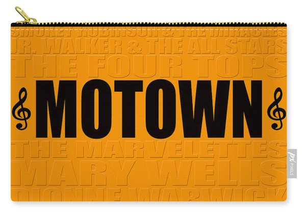 Motown Carry-all Pouch