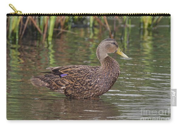 Mottled Duck Drake Carry-all Pouch