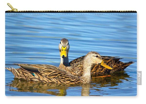 Mottled Ducks Carry-all Pouch