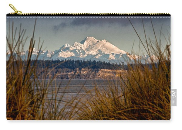 Mount Baker From Port Townsend Carry-all Pouch