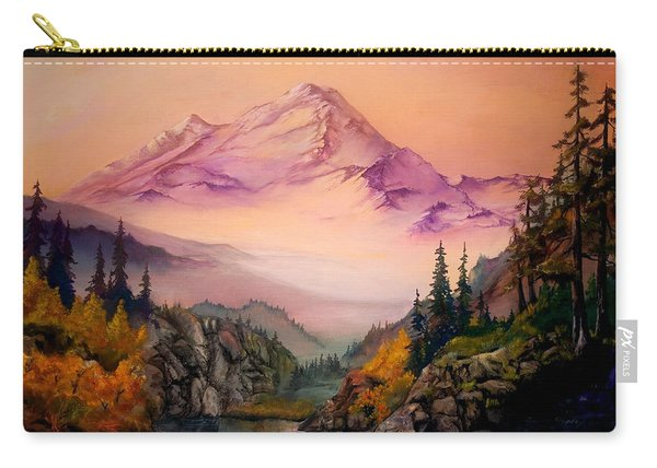 Mount Baker Morning Carry-all Pouch