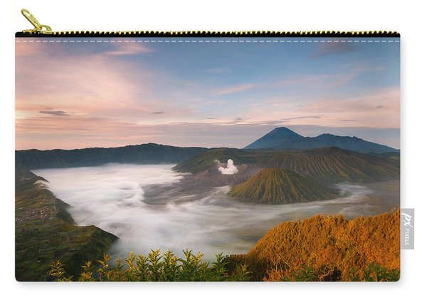 Mount Bromo Sunrise Carry-all Pouch