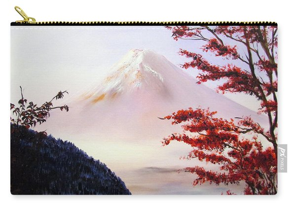 Mount Fuji Carry-all Pouch